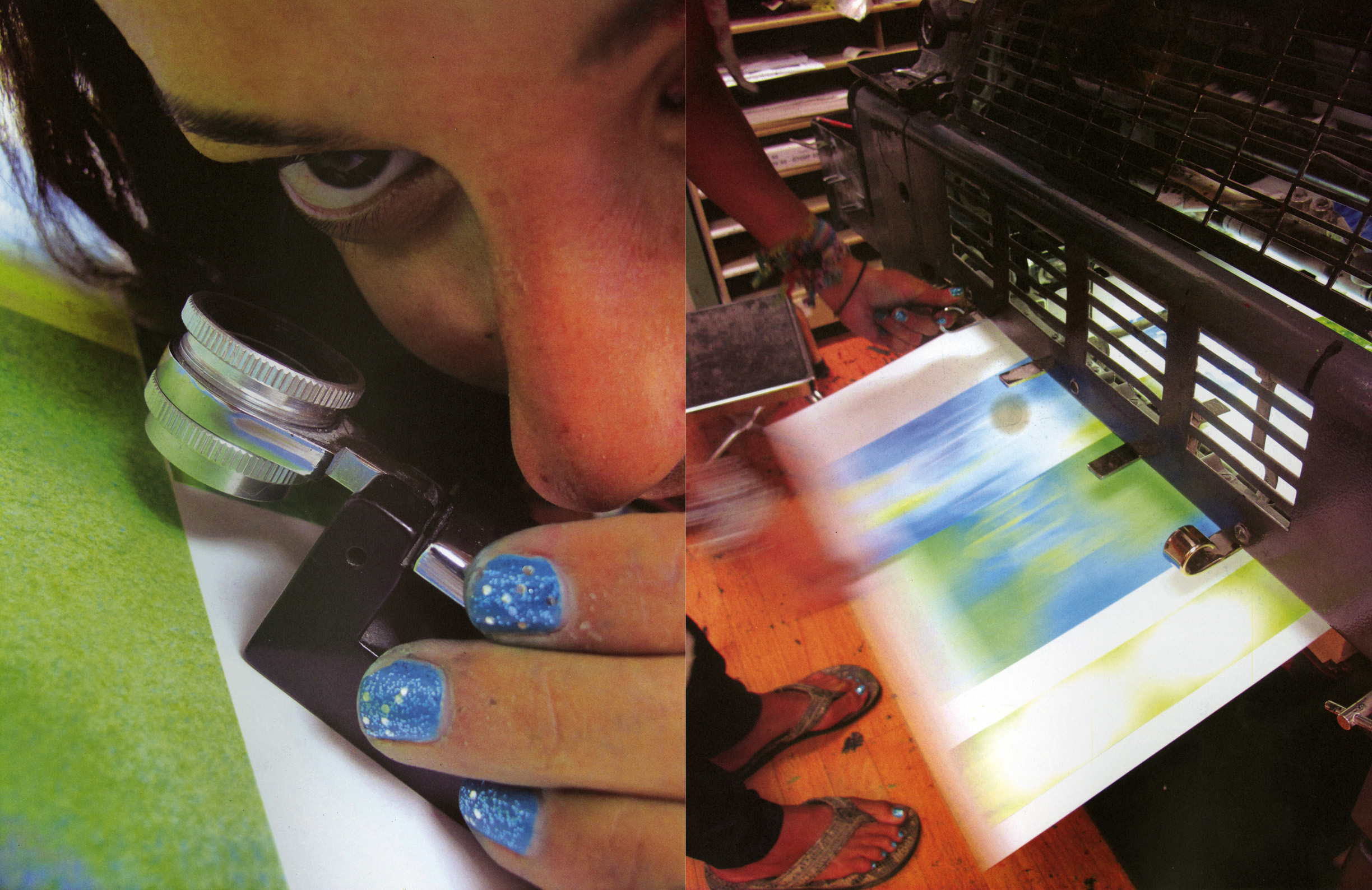 Journal of Artist's Books - Spring 2013   An essay I wrote about the collaboration process with Nat Evans and the creation of our book and music project,  In a Shifting Landscape , is featured in  JAB33 .