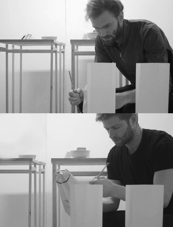Matthew and Michael in their London studio