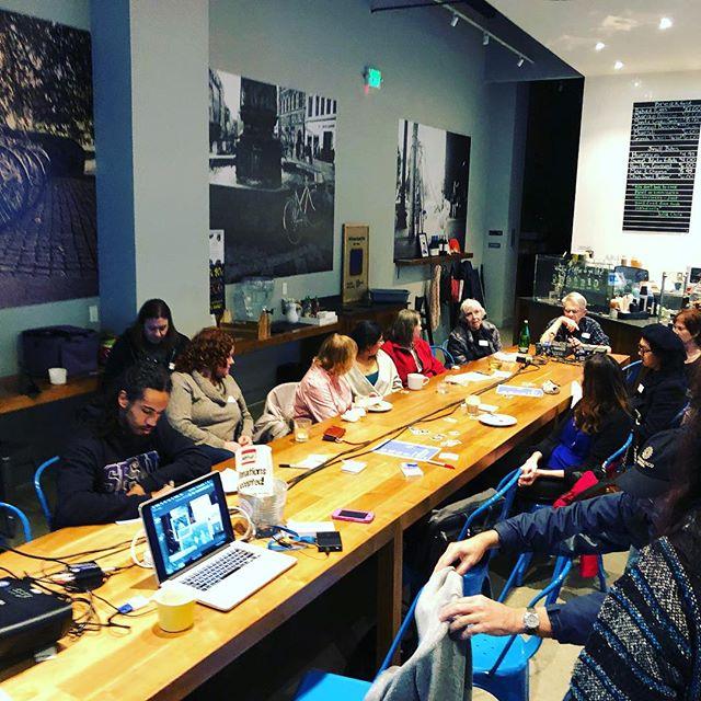 Build a longer table not a bigger wall. #creativecrewrwc #collaboration