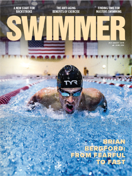 Brian's journey as an athlete and entrepreneur was recently featured in SWIMMER magazine