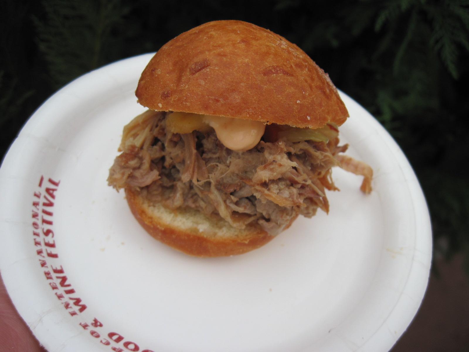 Kalua Pork Slider-Hawai'i
