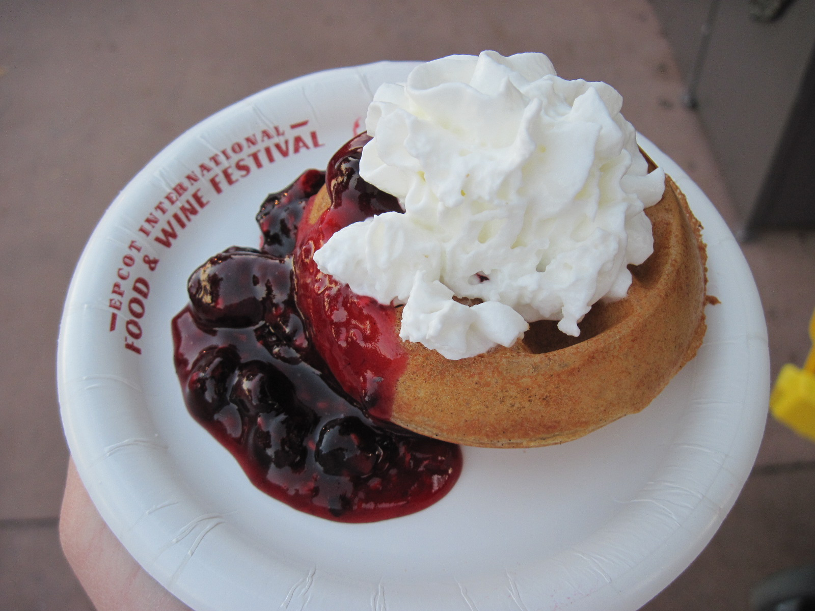 Belgian Waffle with Berry Compote-Belgium