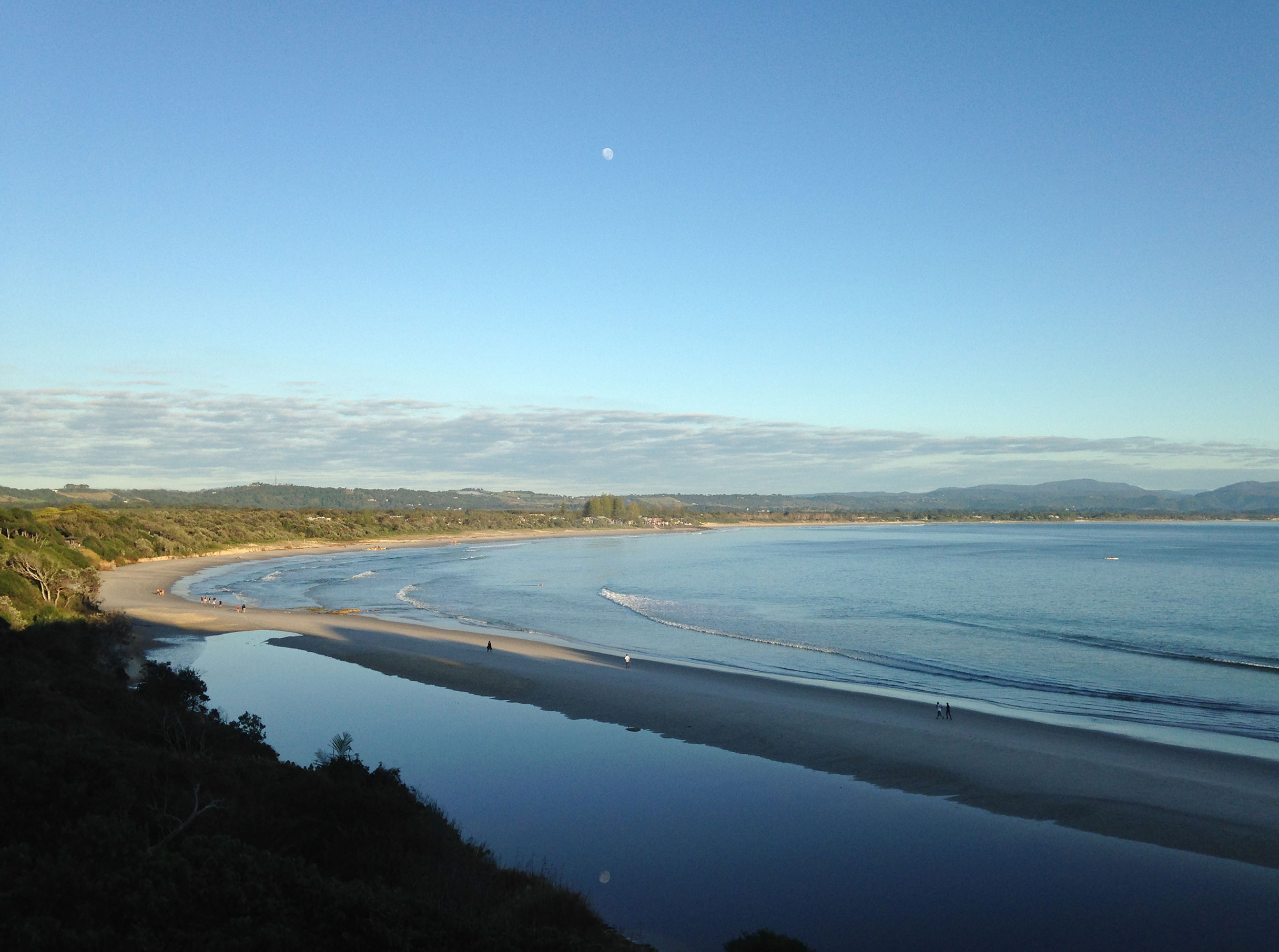 View from Lighthouse, Byron Bay Australia, photography by  Kate Forrester