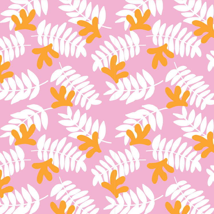 Soft Tropical II   Hand-sketch, Manipulation in Illustrator