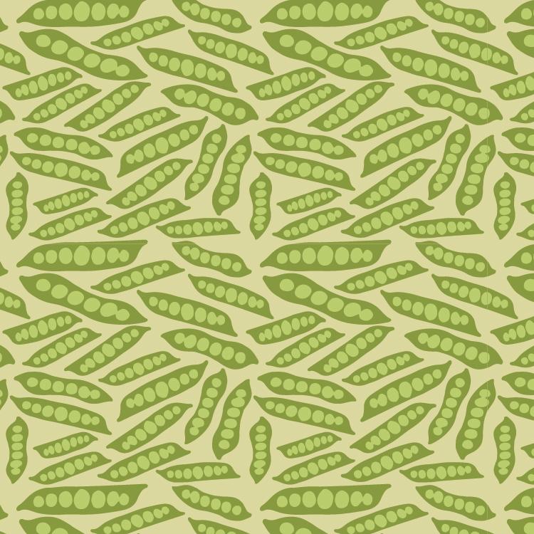 Snap Peas   Hand-sketch, Manipulation in Illustrator