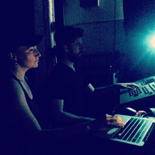 Our awesome lighting team for @yourdancefest , @liisa_lionheart and @wolfguidingcrow