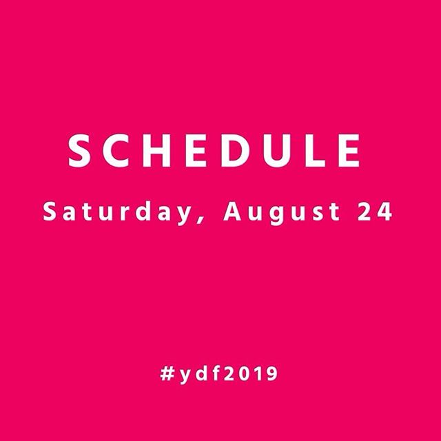 #ydf2019 day 2!  Saturday, August 24th Schedule: 1:00-2:00pm FREE Kids Bollywood Workshop with Ria Aikat 2:15-3:30pm Performance Program 1 3:30-4:00pm Program 1 Dance Back 6:00-7:00pm FREE Express Yourself Through Dance Workshop with Oriana Pagnotta 7:15-8:30pm Performance Program 2 8:30-9:30pm Program 2 Dance Back  Ticket link in bio 💜💖💙 #showtime #dancerlife #dance #danceto #dancetoronto #communityarts #stclairwest #seeyouthere