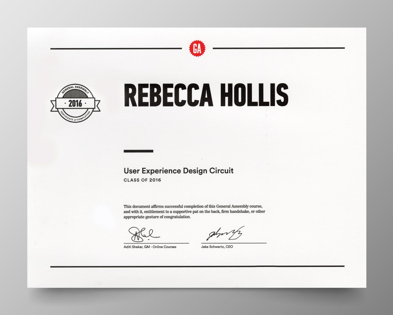 About Rebecca Hollis