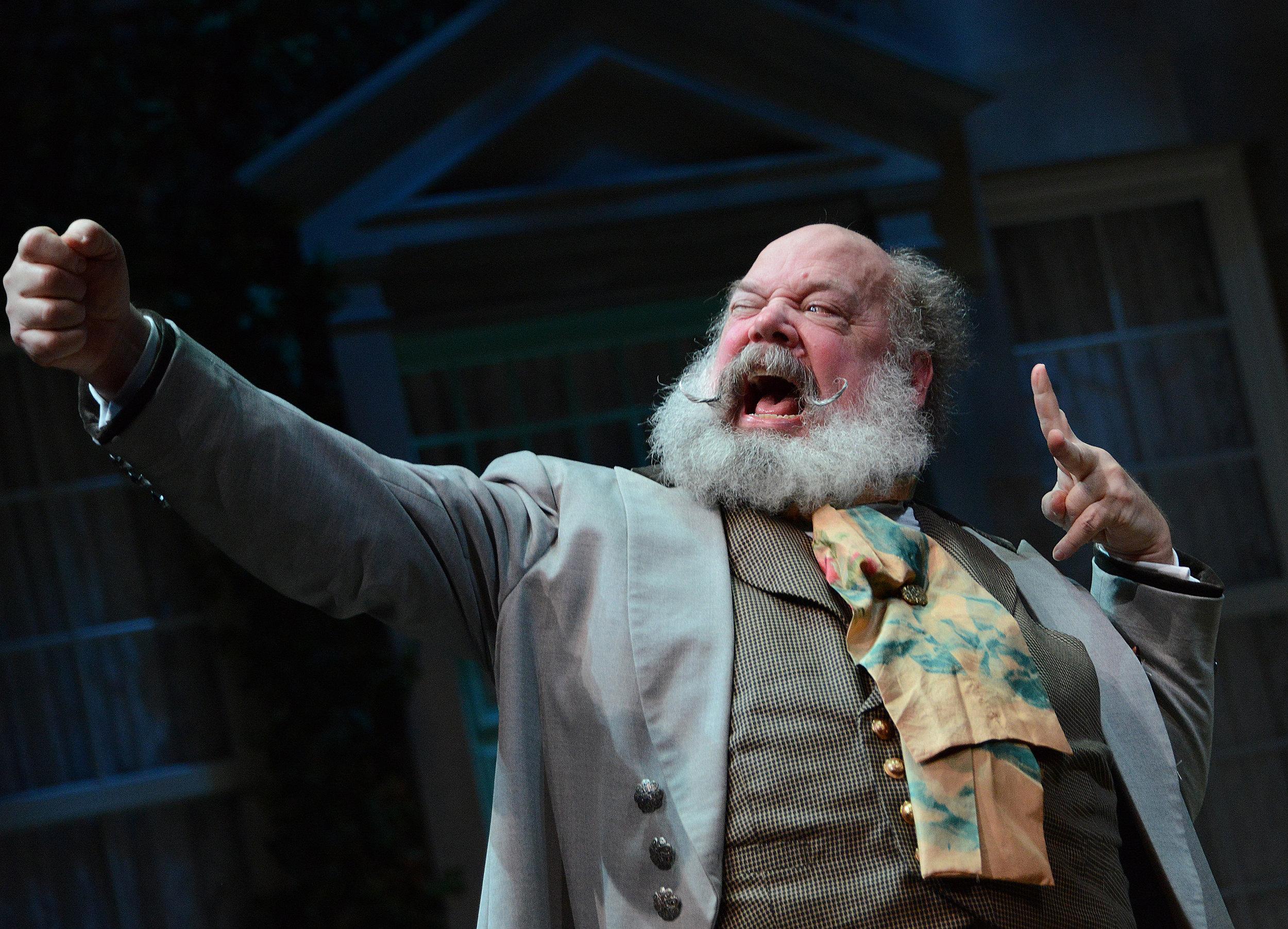 John Ahlin in Twelfth Night