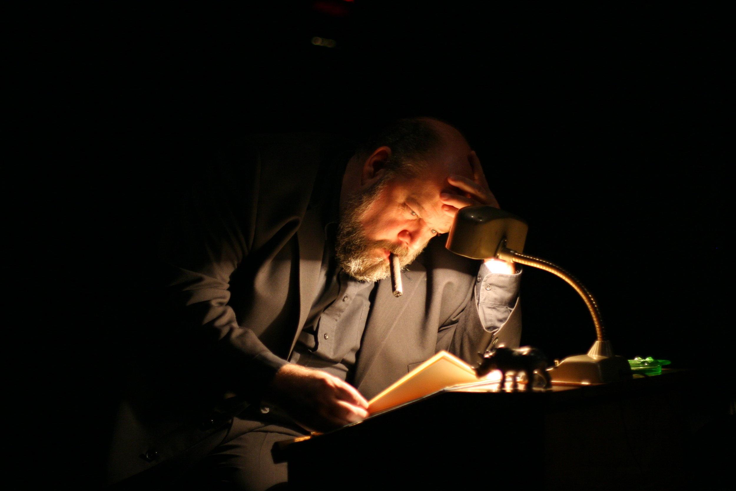 John Ahlin as Orson Welles in Orson's Shadow