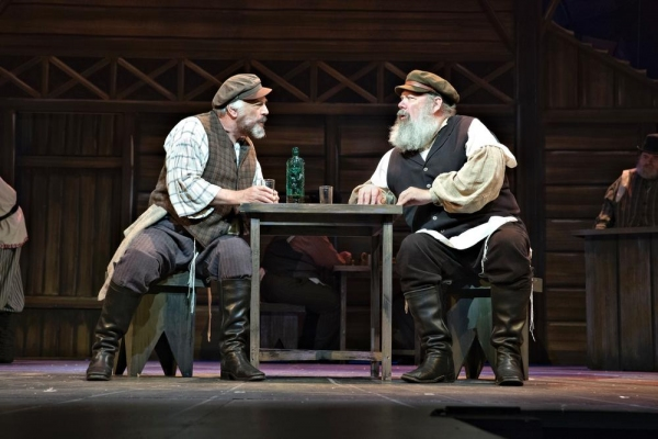 John Ahlin as Lazar Wolf in A Fiddler on the Roof