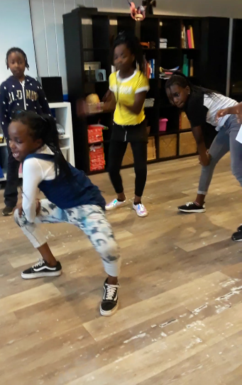 The awesome kids at Frontlines (Weston) showing off their moves