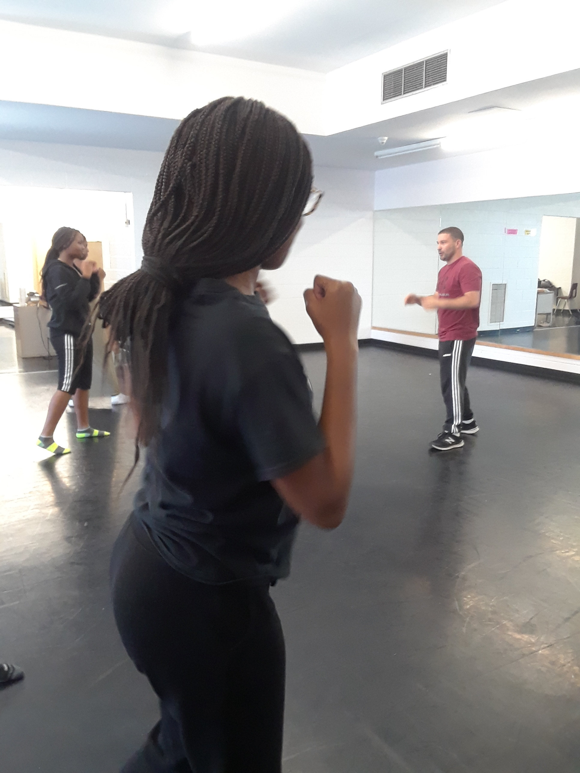 girls dance and self defense workshop (Success Beyond Limits, Jane and Finch)
