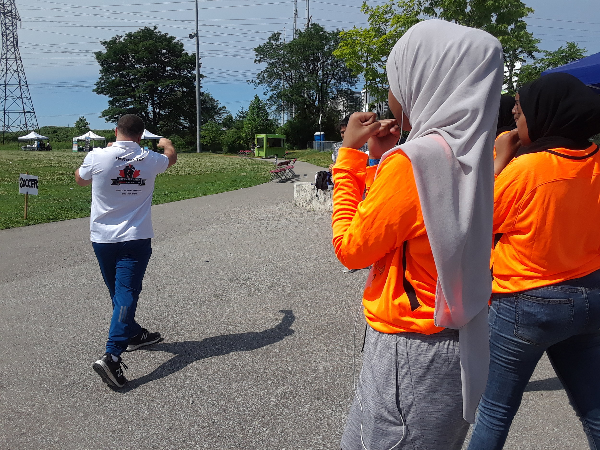 Dance and Self Defense Workshops at the 2019 Hijabi Ballers Sports Festival