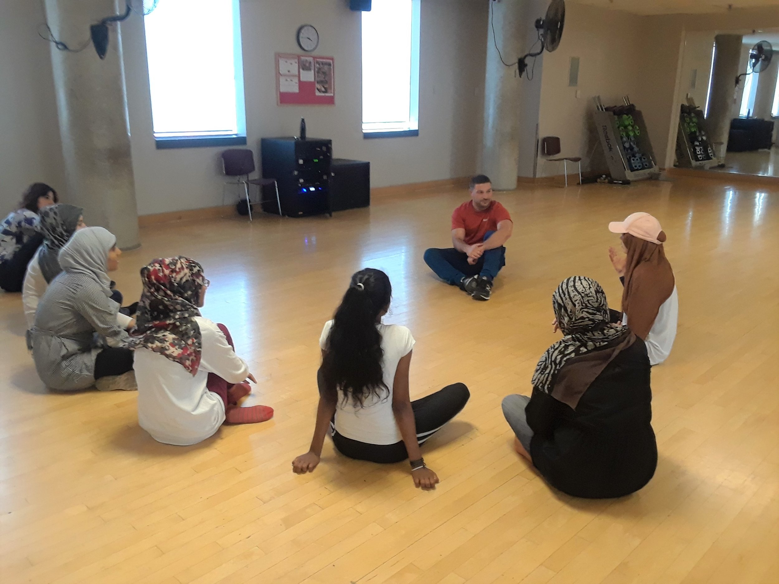 Newcomer Girls Dance and Self-Defense Workshop at YMCA Scarborough