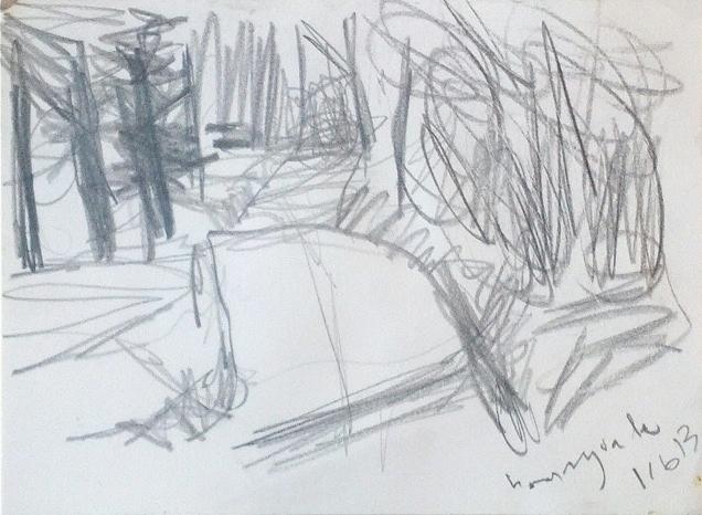 bonny vale road, carpenter's pencil
