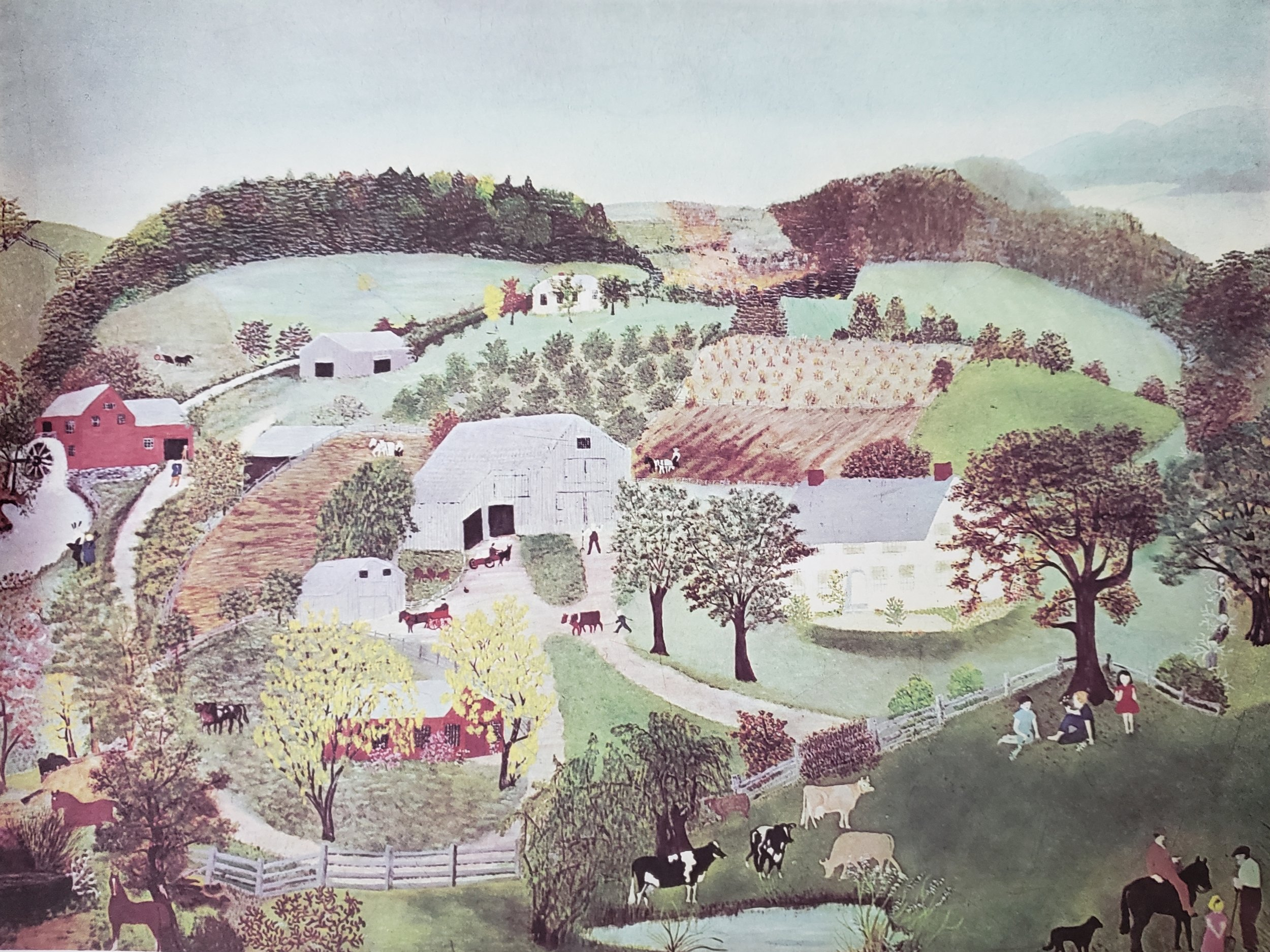 Grandma Moses Childhood Home, 1946