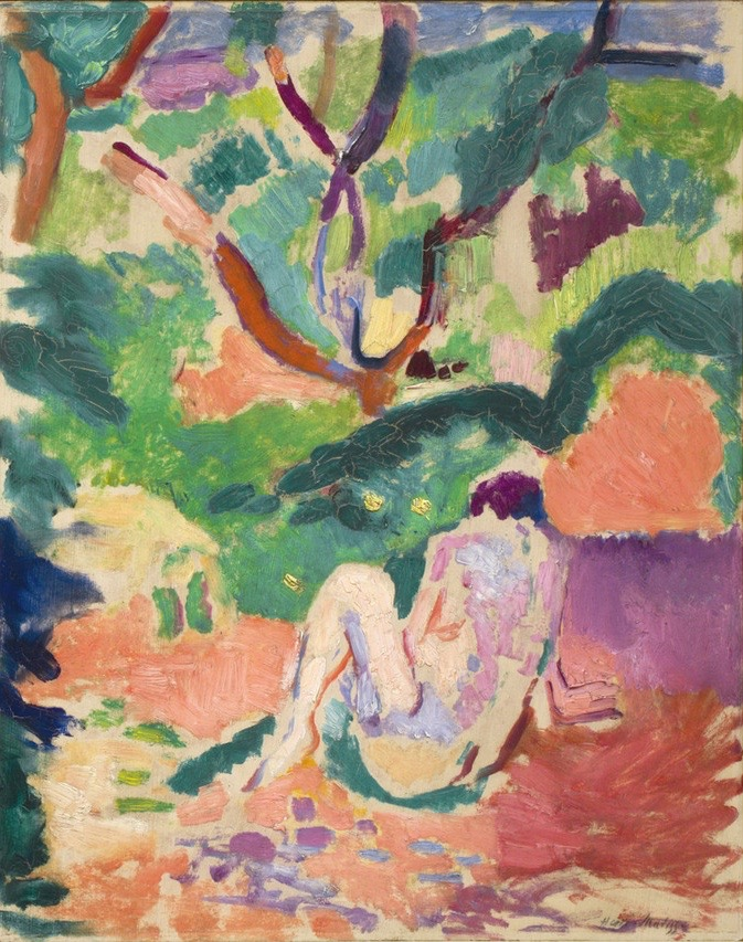 Nude in the Wood, H Matisse