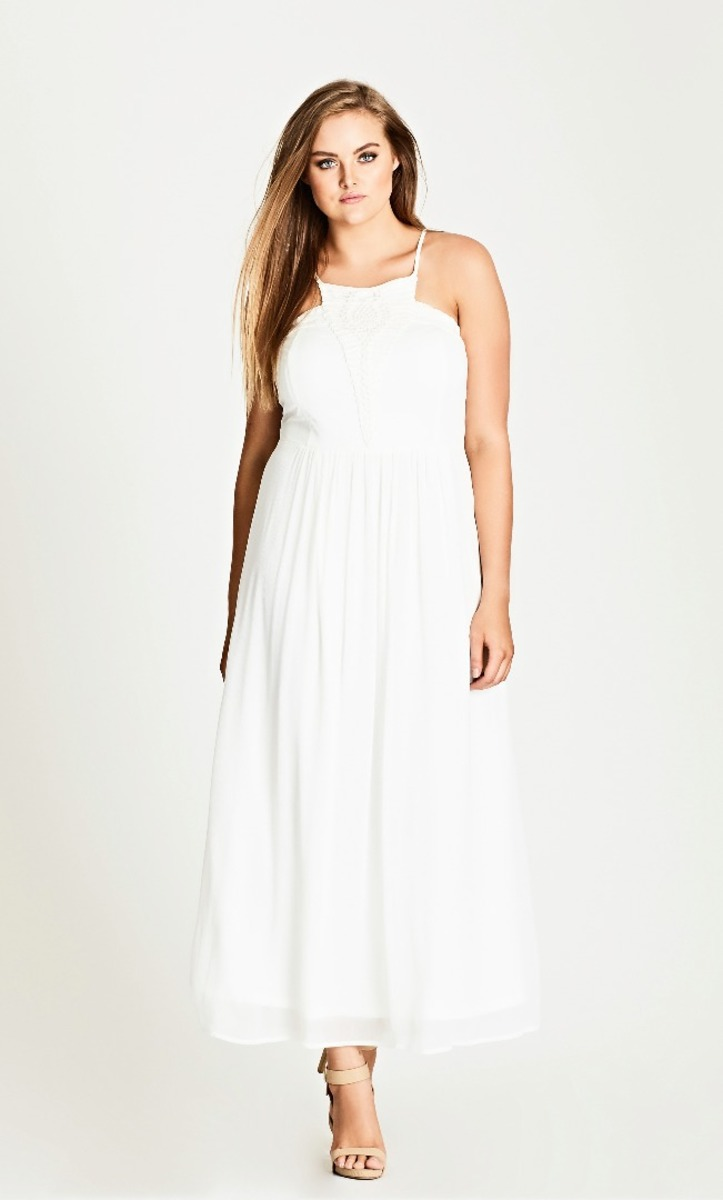 City Chic - Purity maxi dress