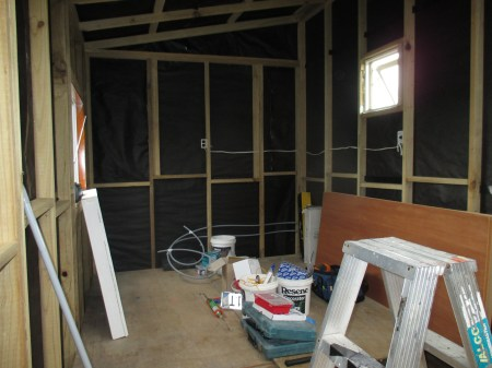 It was so fun moving all our tools in and out of the tiny house- over and over and over and over and over ..........