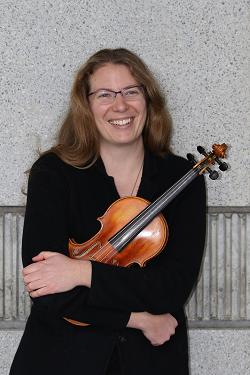 Sarah Wood, violin