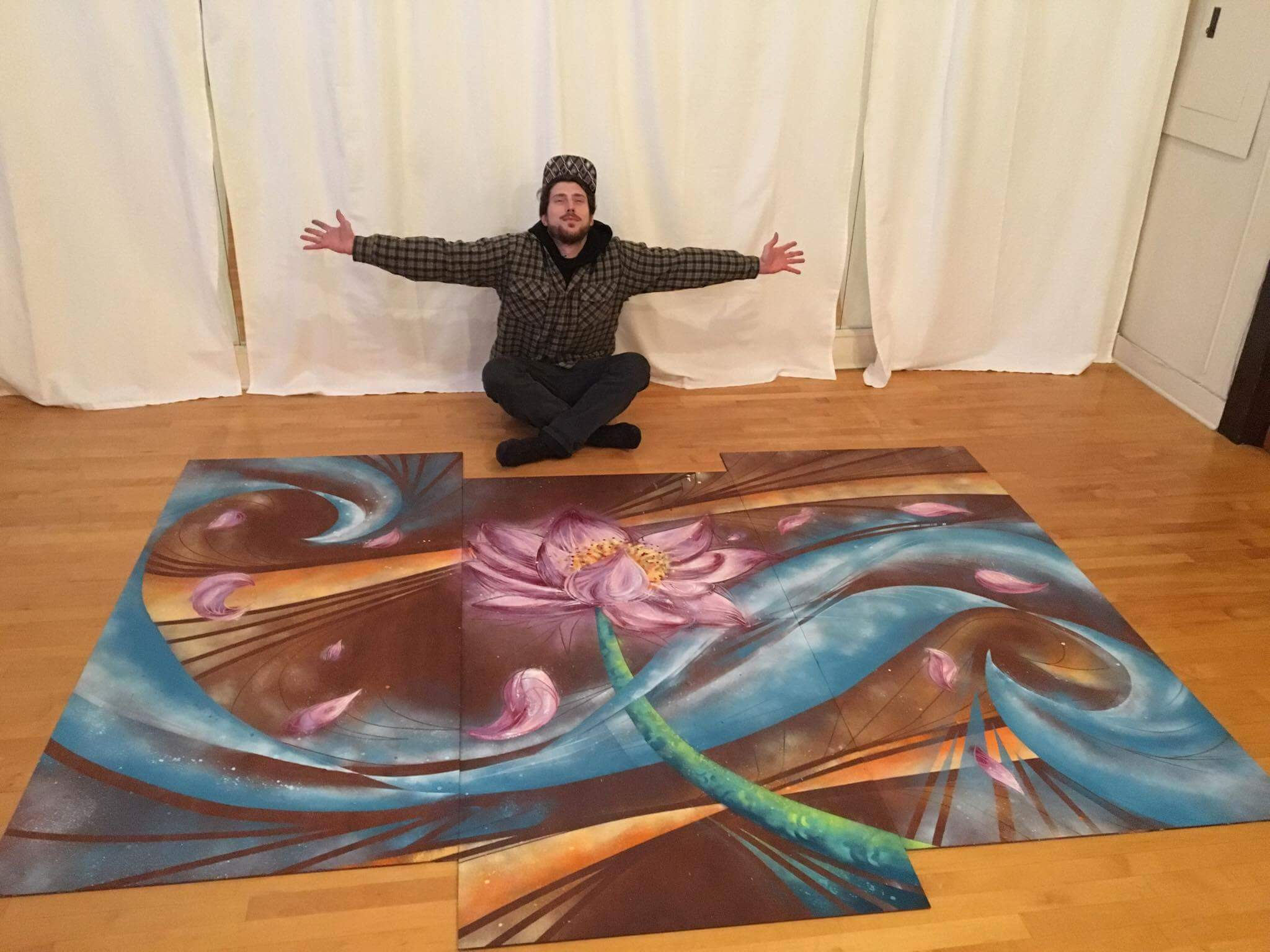 """Cosmic Lotus"" 