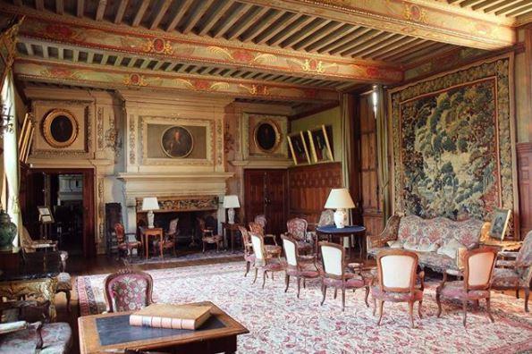 Château de Ravignan - Producteurs d'Armagnac - Grand Salon.JPG