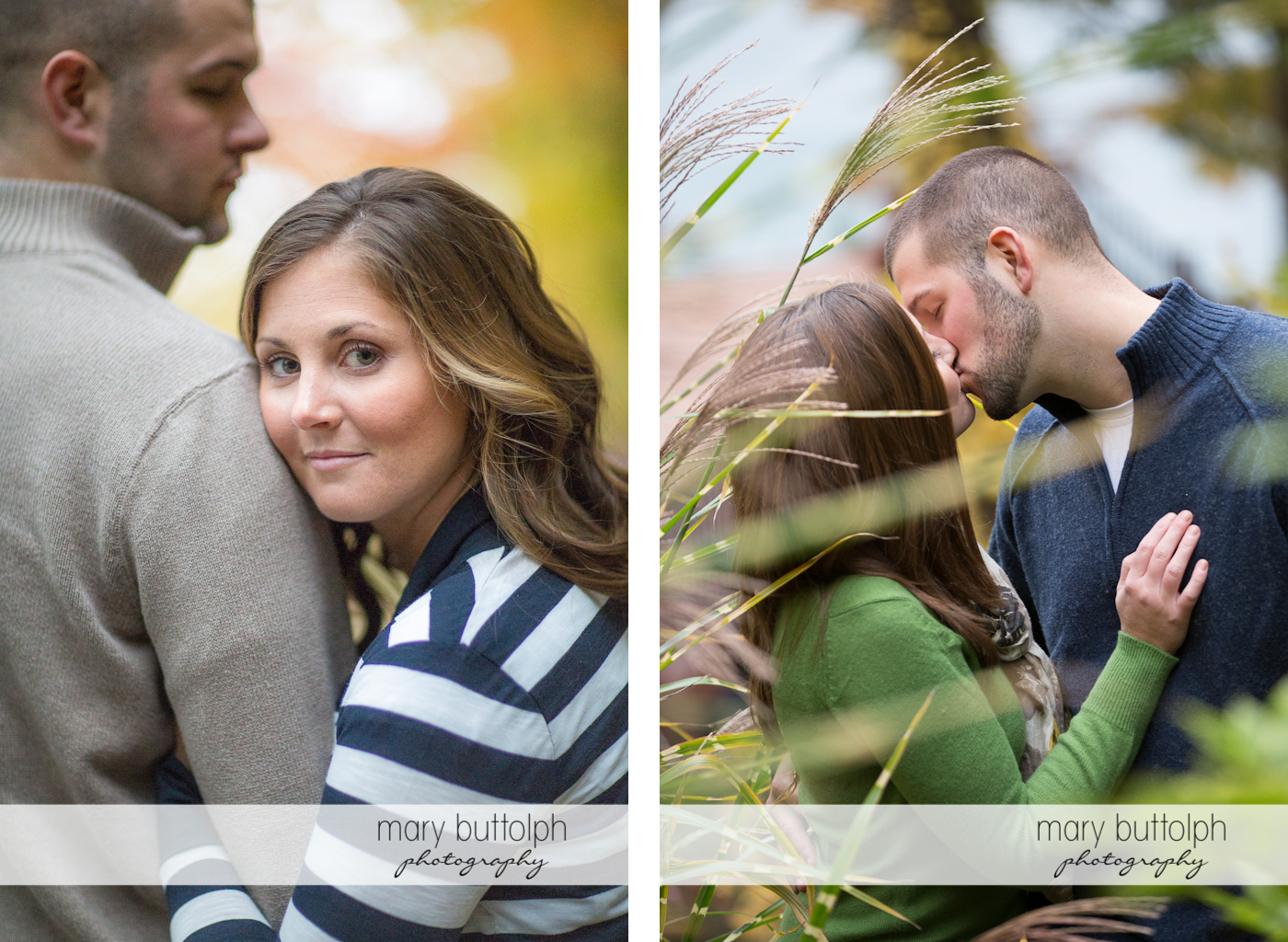 Couple share a tender moment in the field at Skaneateles Engagement