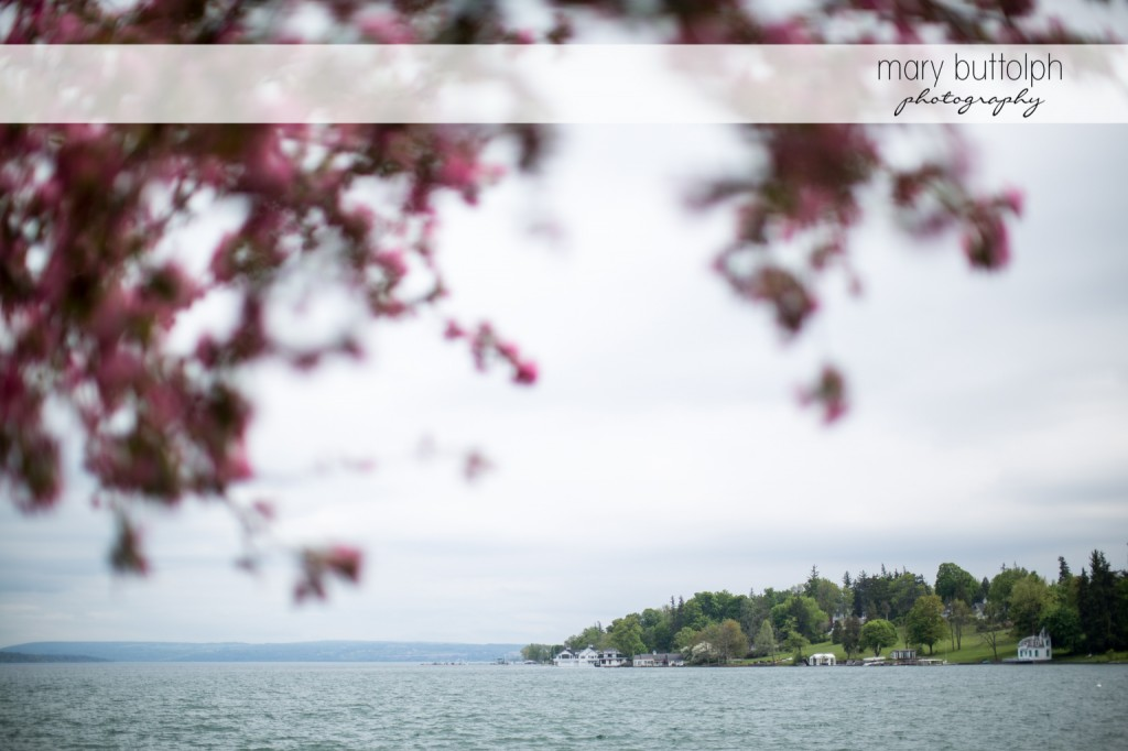 The peaceful lake at Skaneateles Country Club Wedding