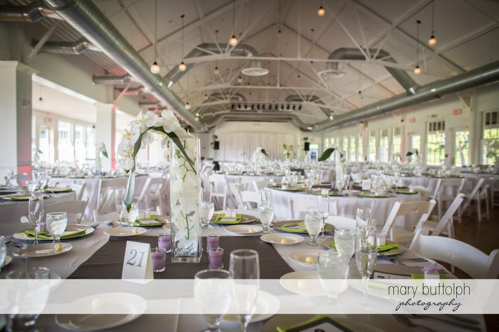 The wedding venue at Emerson Park Pavilion Wedding
