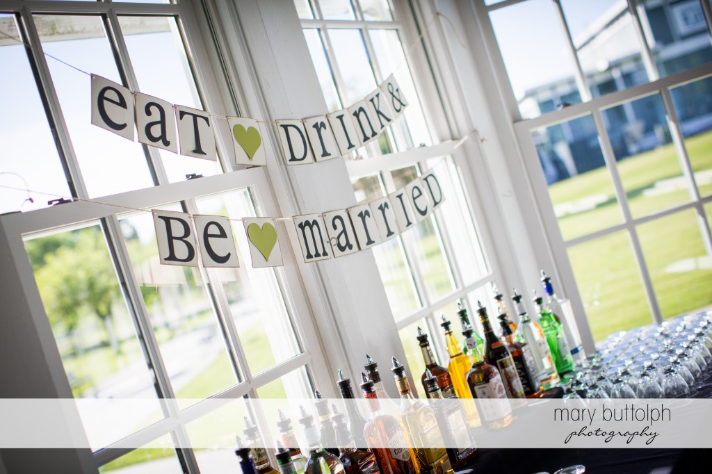 Old biblical saying gets a new meaning at the wedding venue at Emerson Park Pavilion Wedding