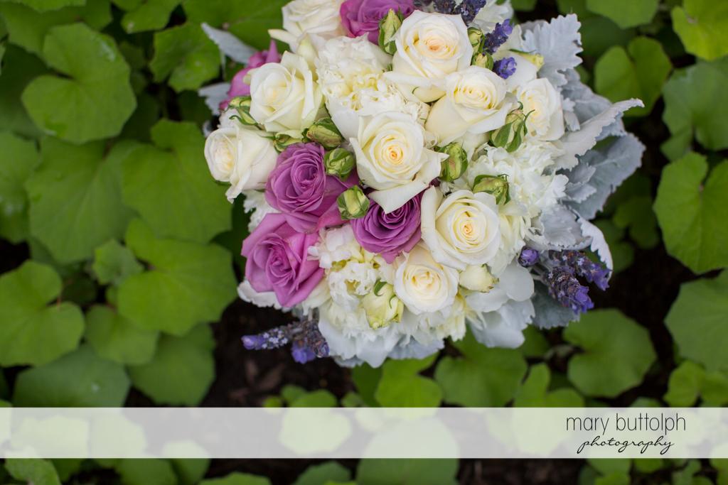 A beautiful bouquet at the Mirbeau Inn & Spa Wedding