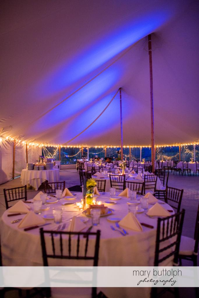 The wedding venue awaits guests at Anyela's Vineyards Wedding