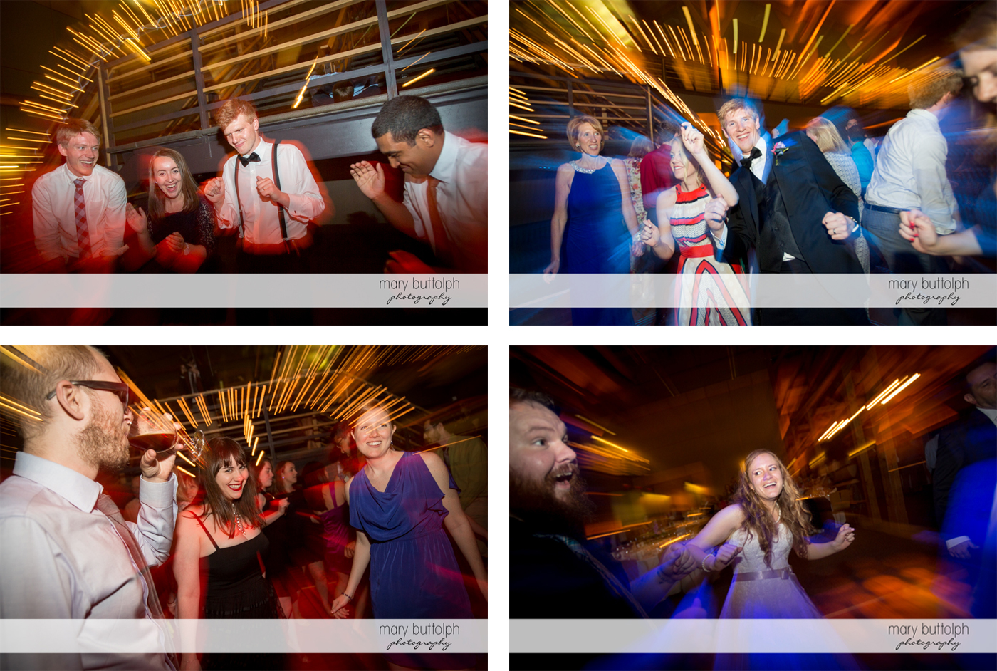 Scenes from the dance floor at the Lodge at Welch Allyn Wedding