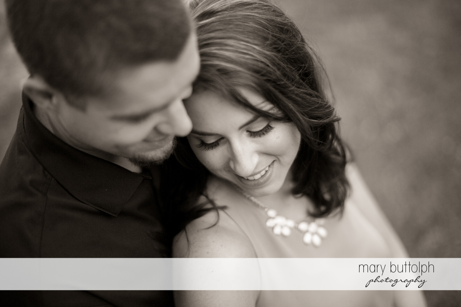 Couple in a romantic mood at Skaneateles Engagement