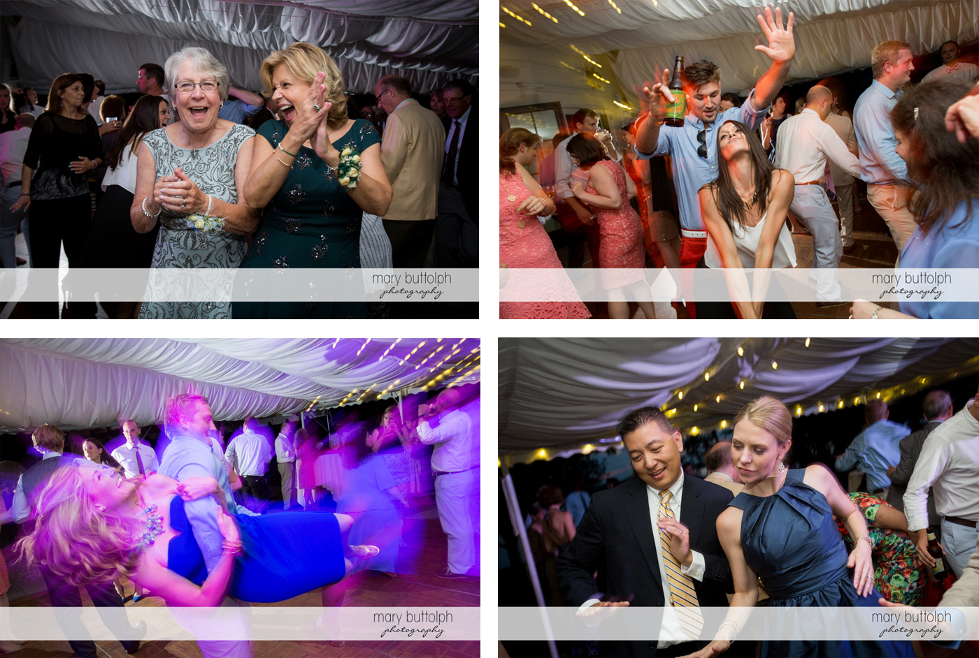Guests dance the night away at the Inns of Aurora Wedding