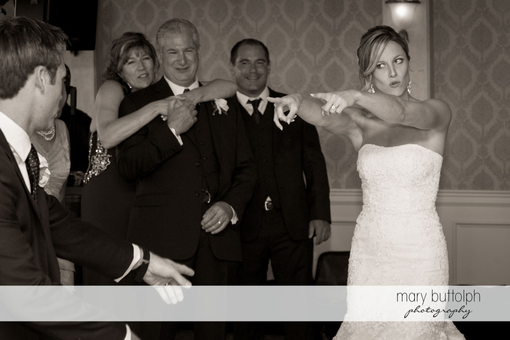 Couple show their fancy dance moves at Skaneateles Country Club Wedding