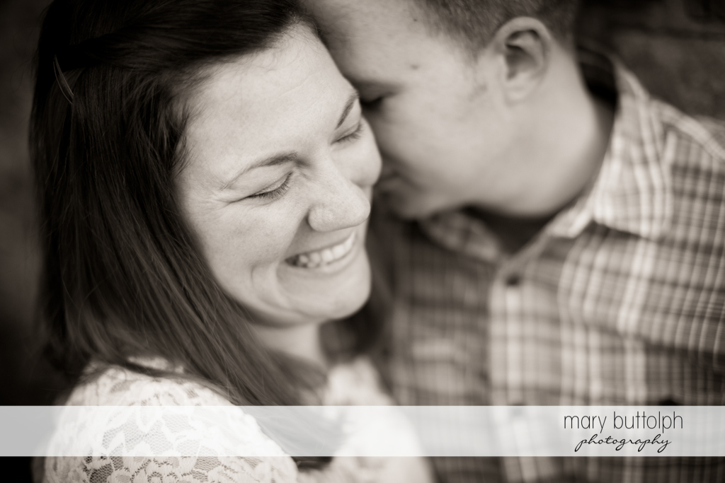 Couple share good times at Skaneateles Engagement