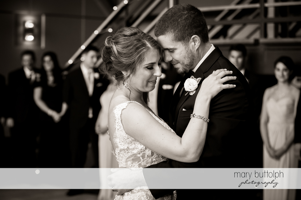 Couple dance the night away at The Lodge at Welch Allyn Wedding