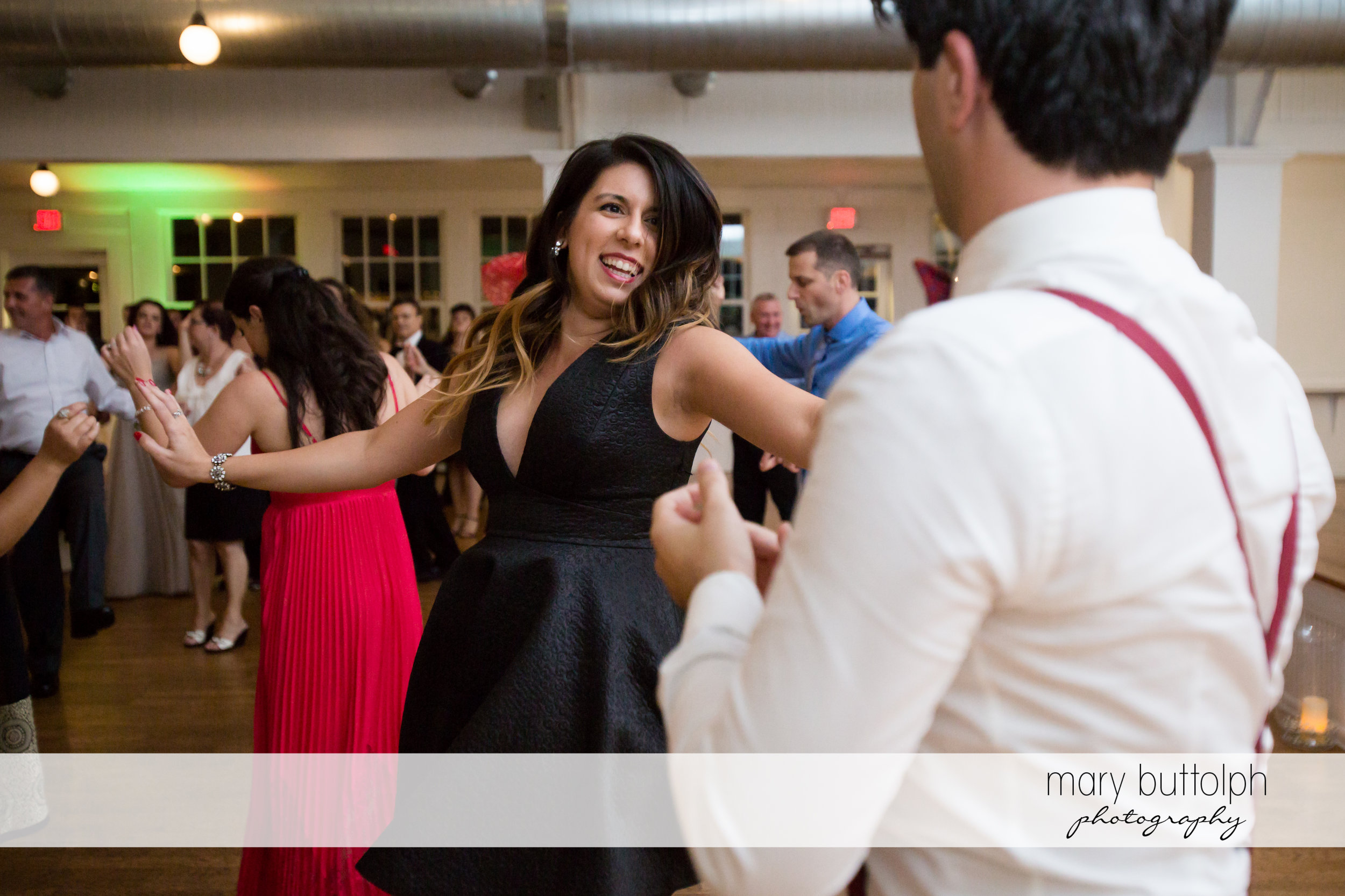 Guests heat up the dance floor at Emerson Park Pavilion Wedding