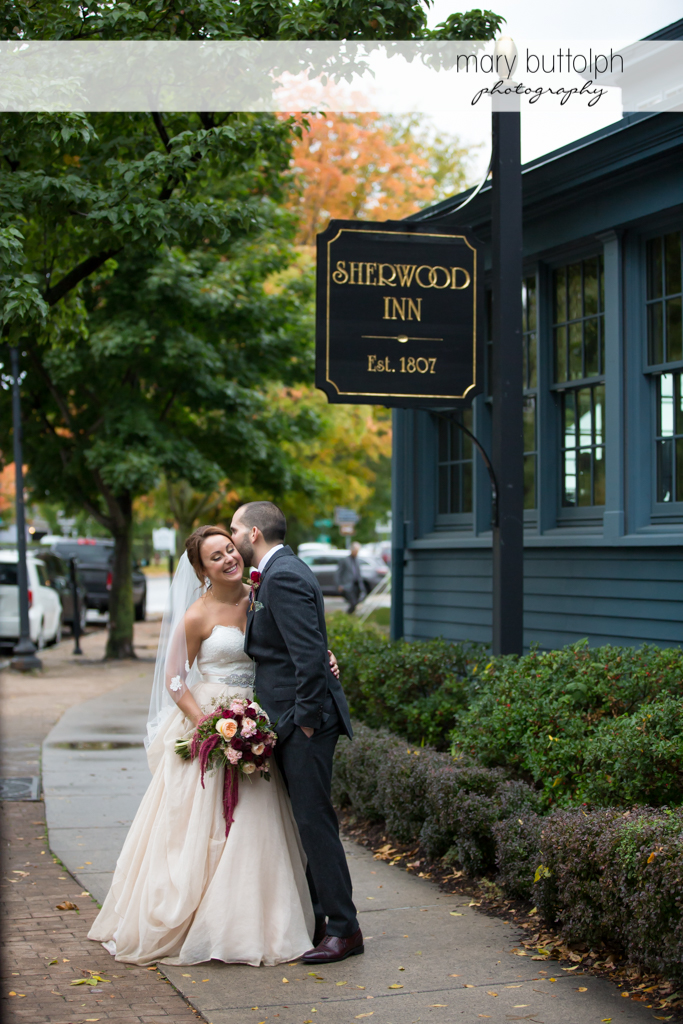 Couple prepare for Sherwood Inn Wedding