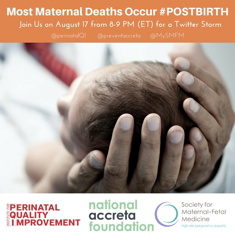 Most Maternal Deaths Occur Post Birth