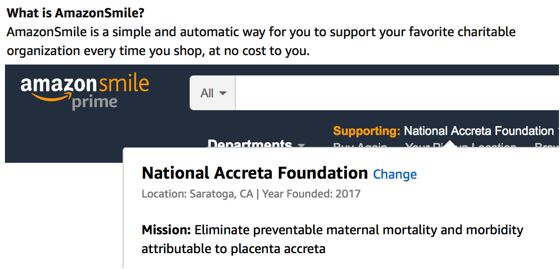 Benefit NAF while you shop. - Amazon Smile donates .5% of qualifying purchases to the charity of your choice.