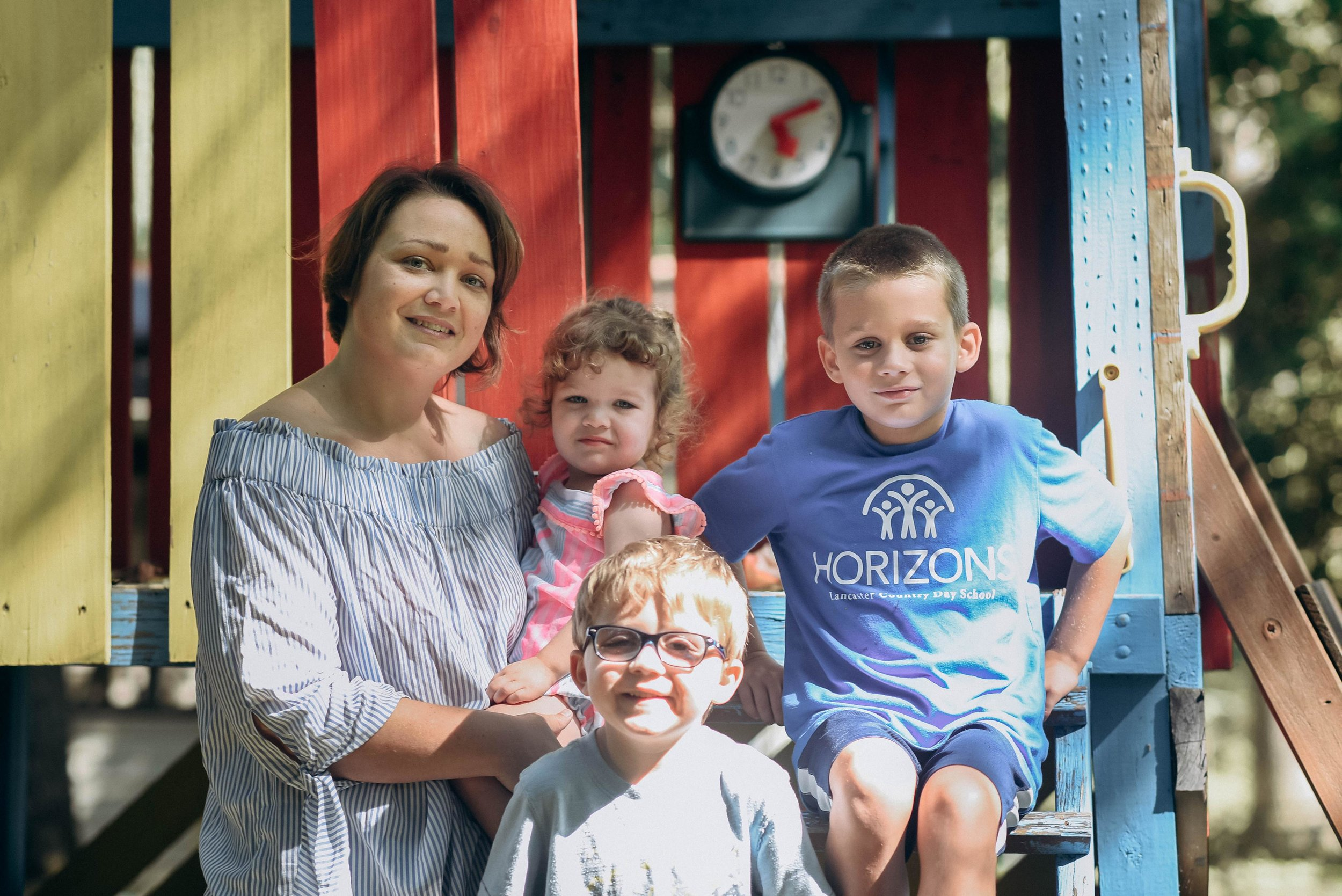 Megan and her children 2 years after accreta (Photo Credit: Faces of Postpartum)