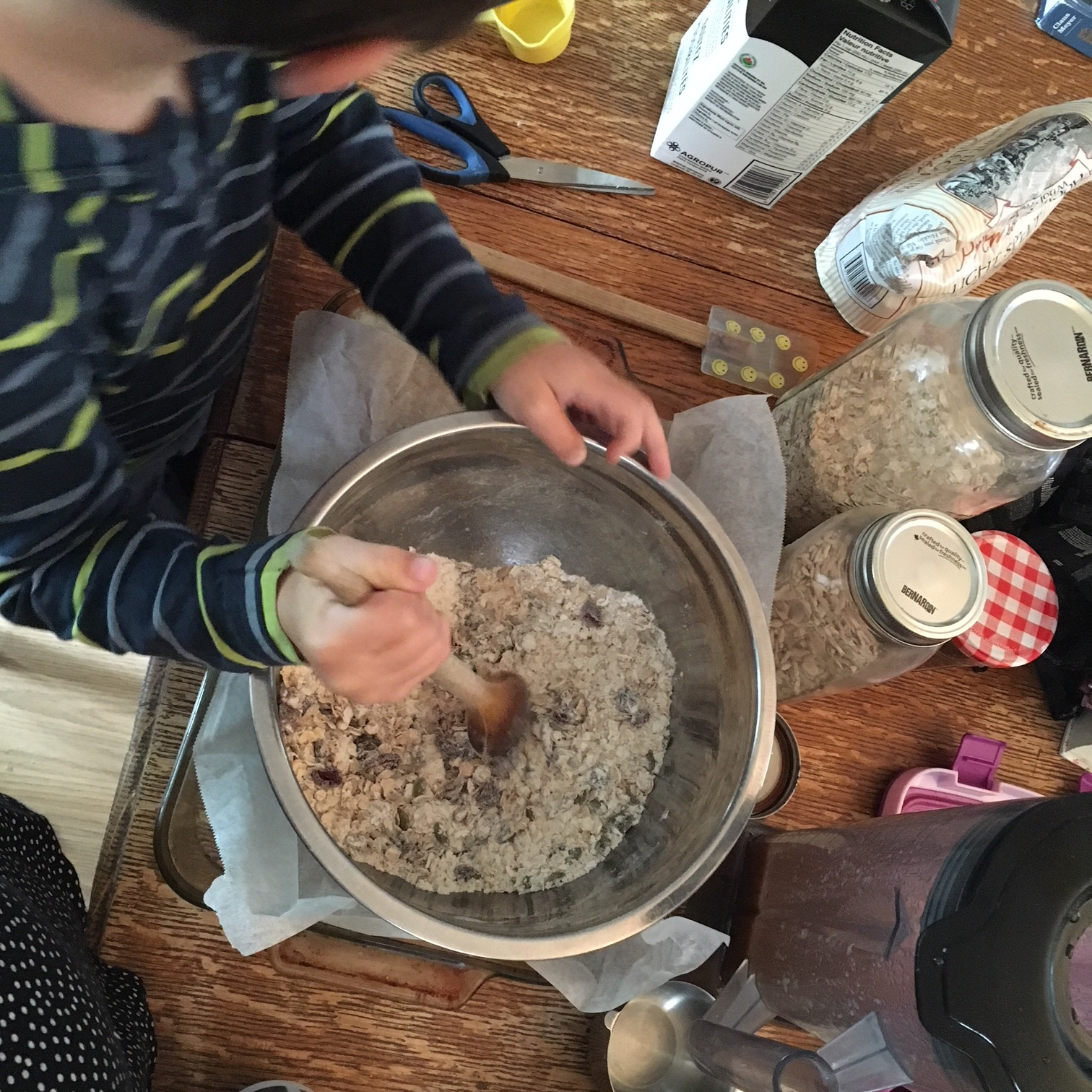 Dry ingredients, original recipe