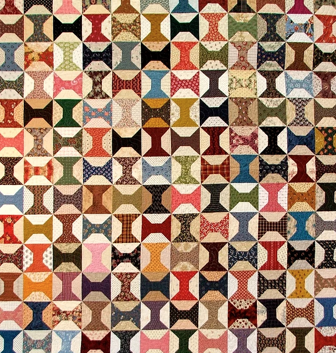 spools quilt