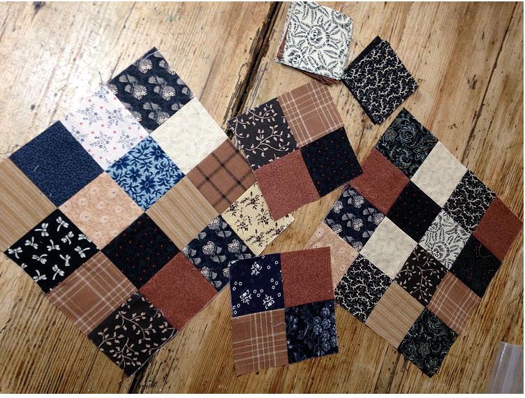 four-patch quilt pattern