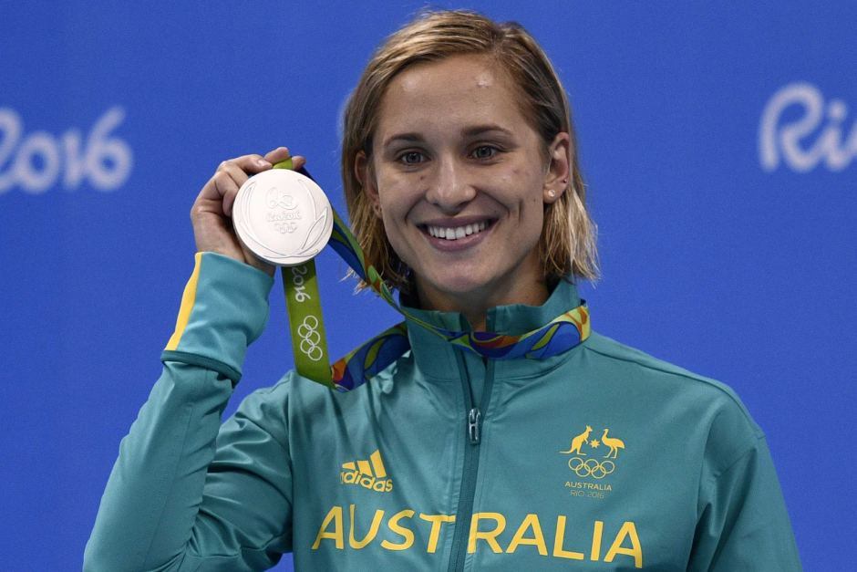<strong>Maddie Groves</strong> <p>Silver Medalist Rio Olympics</p>