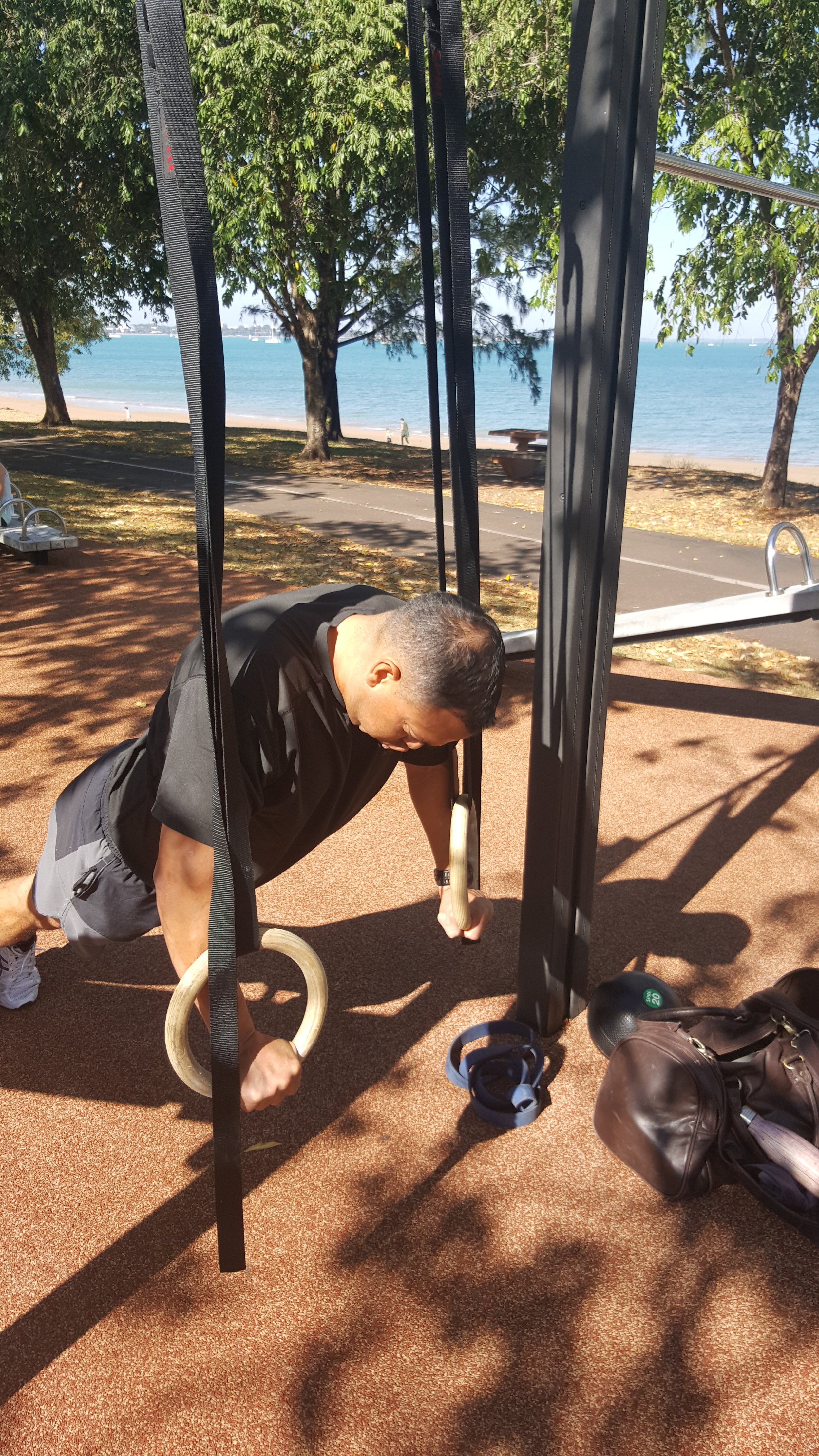 Versatile and effective, Gymnastic Rings are a great tool to compliment your home gym.