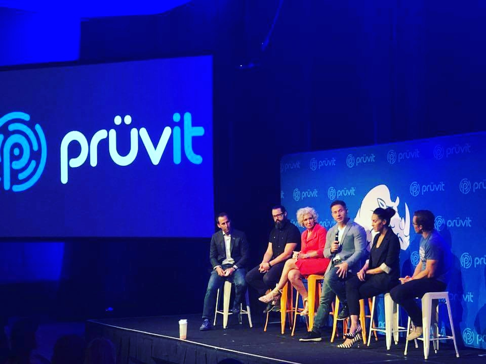 ON stage at Pruvit's Charge event.